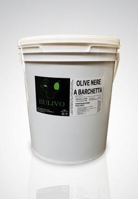 Olive Nere A Barchetta